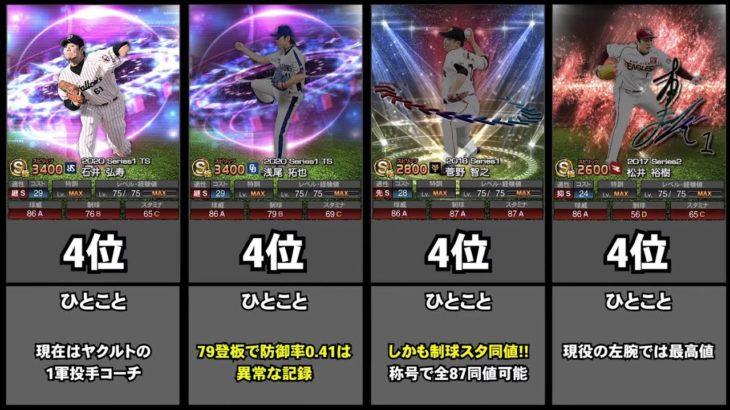 【プロスピA】球威ランキング!!集え直球自慢!【2020年11月版】