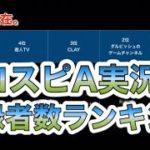 【1分動画】【プロスピA】#82 プロスピA実況者のチャンネル登録者数ランキング!あの人は何位!?#Shorts